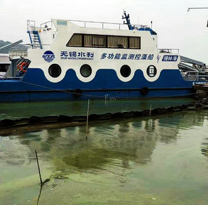 藍藻監控預警治理設備——多功能監測控藻船